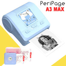 Peripage a3 max 57mm 80mm portátil mini bolso impressora de fotos impressora térmica bluetooth para o sistema windows do computador do telefone móvel(China)