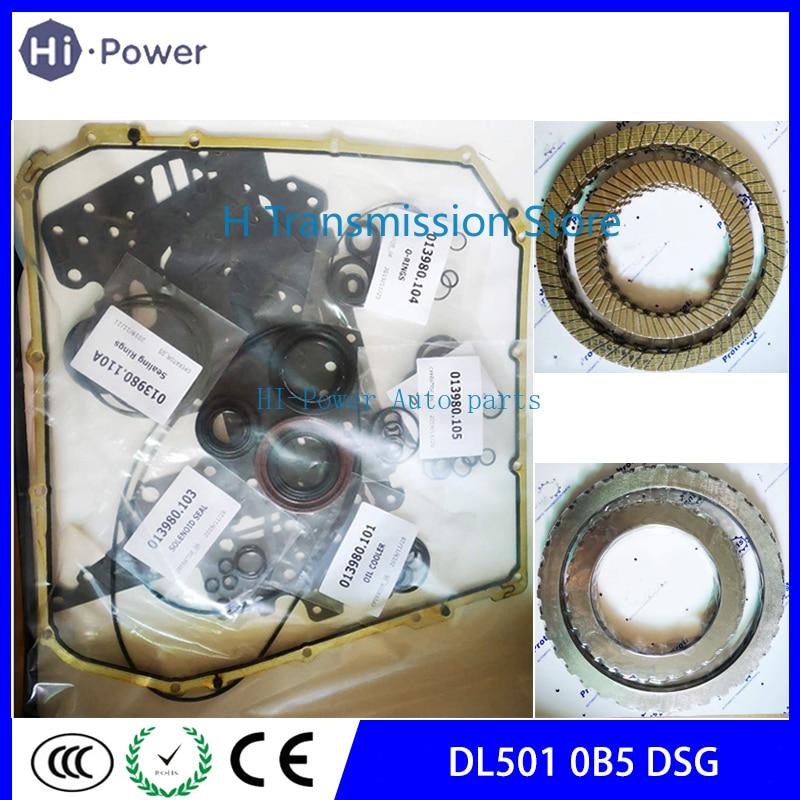 DL501 0B5 DSG Transmission Master Rebuild Kit Seal For AUDI