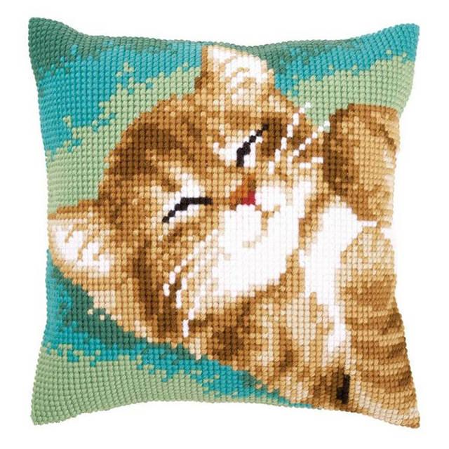 Cat Pillow Crochet Pattern PDF (Read Description) | eBay | 640x640
