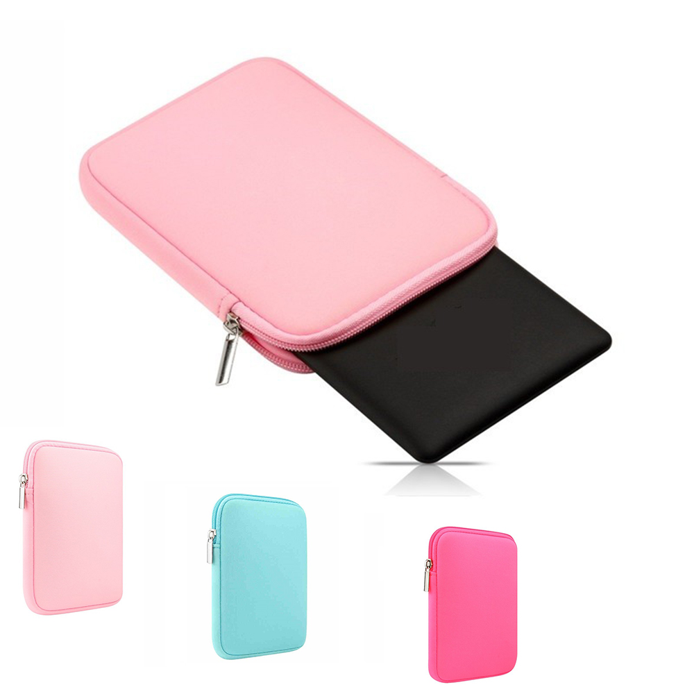 Soft E-Books Reader Sleeve Case Protective Cover Pouch Bag 6 Inch For Kindle Paperwhite 1/2/3/4 Kindle Oasis 1/2