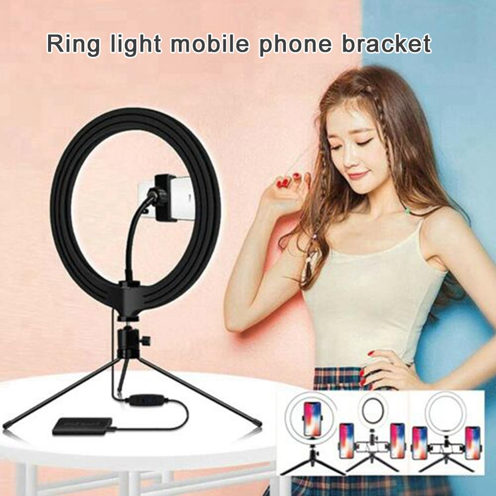 cheapest New Hot Selfie LED Ring Light Rechargeable Portable Clip Fill Light for Phone Tablet Video