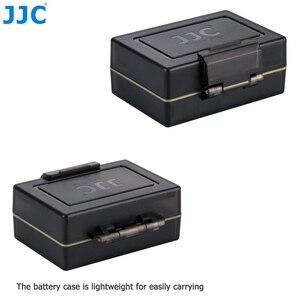 Image 5 - Sacchetto della cassa del supporto della batteria della macchina fotografica di JJC per la LP E6 di Canon LP E6N LP E17 scatola di immagazzinaggio della carta di memoria standard MSD TF di Sony NP FW50 Fujifilm