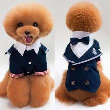 Одежда для маленьких собак, Свадебный Костюм Принца, галстук-бабочка для смокинга, щенков, костюмы H1
