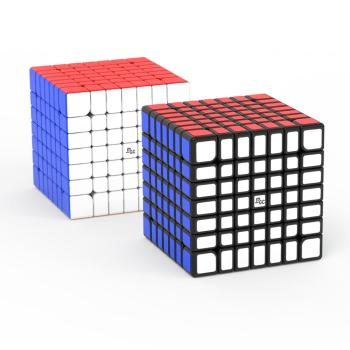 Newest YJ MGC 7x7 Magic Cube Magnetic 7x7x7 Cubo Magico magnets Neo Cube  puzzle speed cubes Educational toys for kids yongjun diamond symbol 3x3x3 magic cube yj 3x3 professional neo speed puzzle antistress fidget educational toys for children