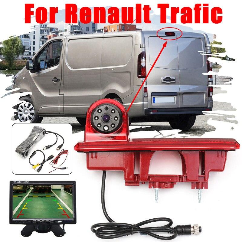 CCD HD Auto Car Rear View Camera Reverse Brake Light Parking Night Vision For Vauxhall Vivaro Renault Traffic Opel Vivaro