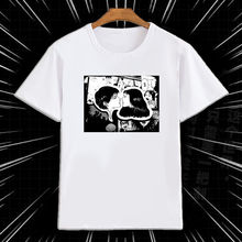 Junji Ito Horror Hanging Balloon T Shirt Short Sleeve Men'S New Arrival Summer Style Short Sleeve Leisure T Shirts for Men new style and new personality stamp for men s short sleeve t shirts
