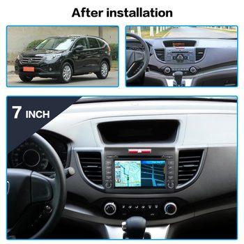 Android System For Honda CRV 2012 2013 2014 HD Screen Radio Car Multimedia Player GPS Navigation Audio Video