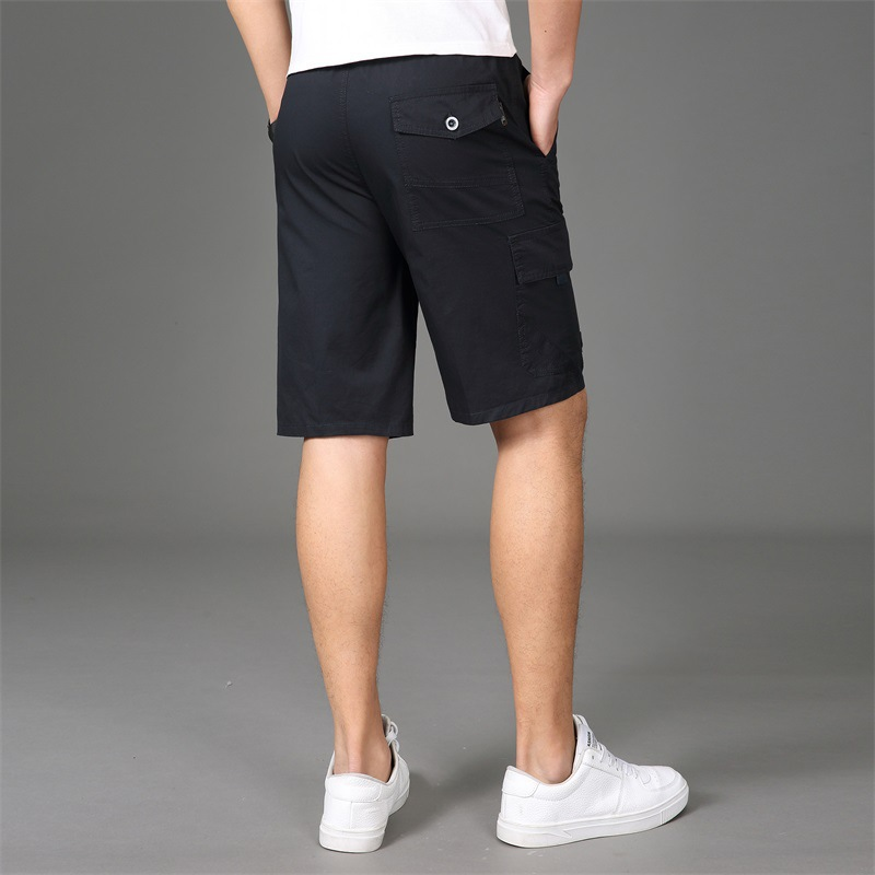Shorts Men's Summer Straight-Cut Shorts Men Loose And Plus-sized Casual Pants Outdoor Sports Workwear Shorts Men's