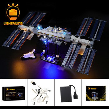LIGHTAILING LED Light Kit For 21321 Ideas Series International Space Station Toys Building Blocks Lighting Set 1