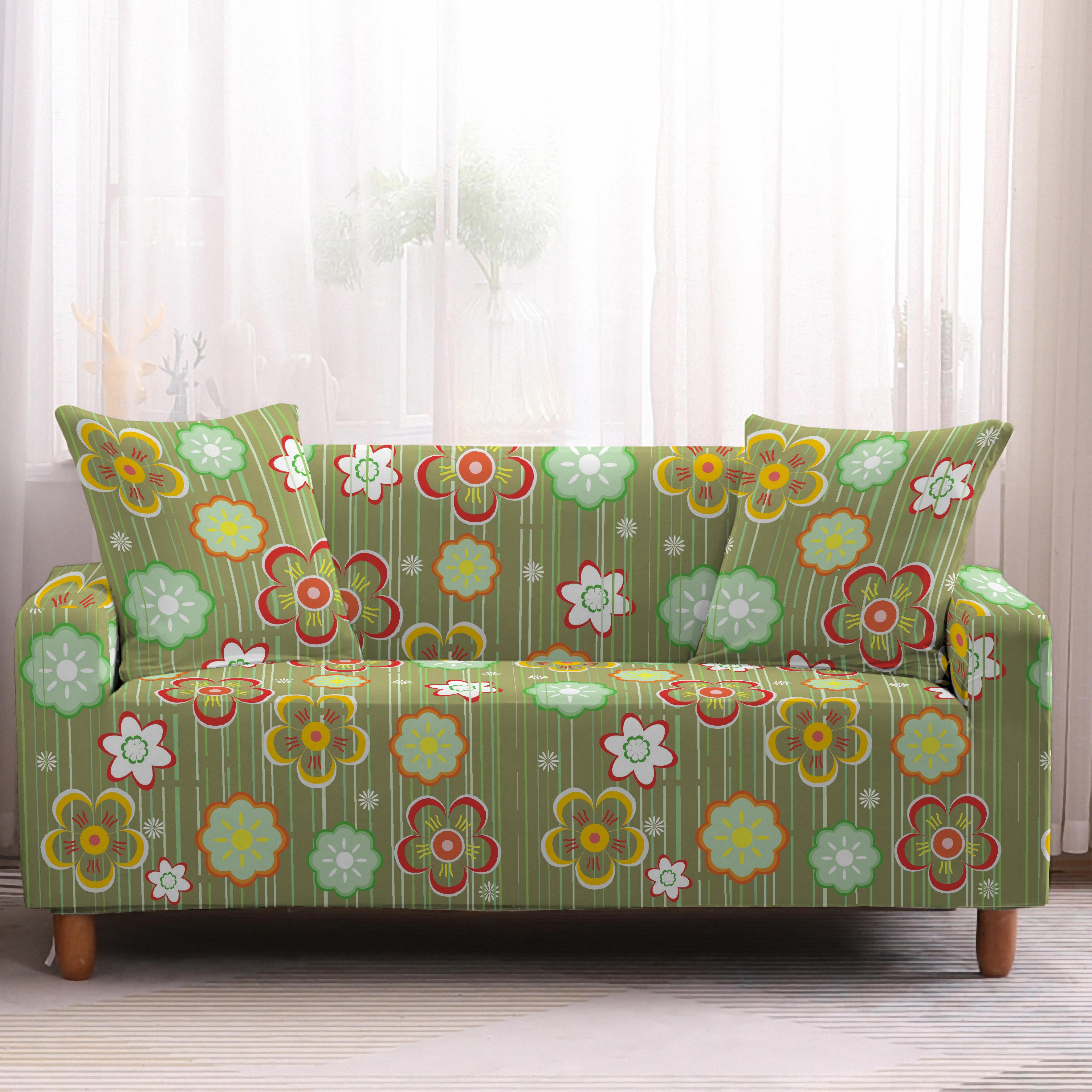 Bohemia Slipcovers Sofa Cover in Mandala Pattern to Protect Living Room Furniture from Stains and Dust 13