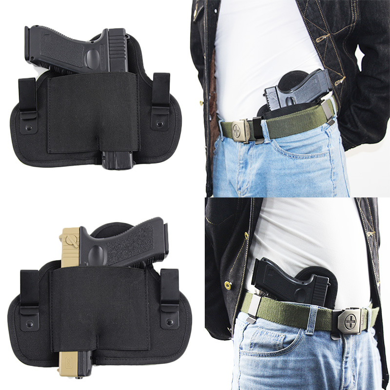 Concealed Carry Holster Left Right Hand Universal Gun Holster For Glock 17 19 22 26 43 Beretta M92F SIG Sauer P226 CZ75 Holsters
