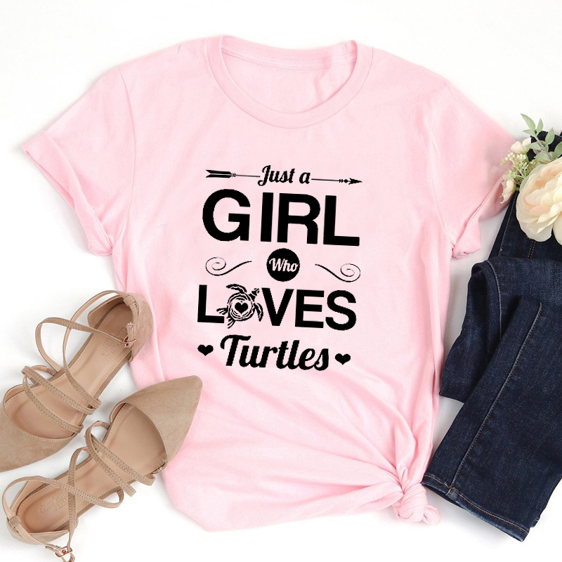 Just-A-Girl-Who-Loves-Turtles-Graphic-Tees-Women-Skip-A-Straw-Save-A-Turtle-Tshirt (1)
