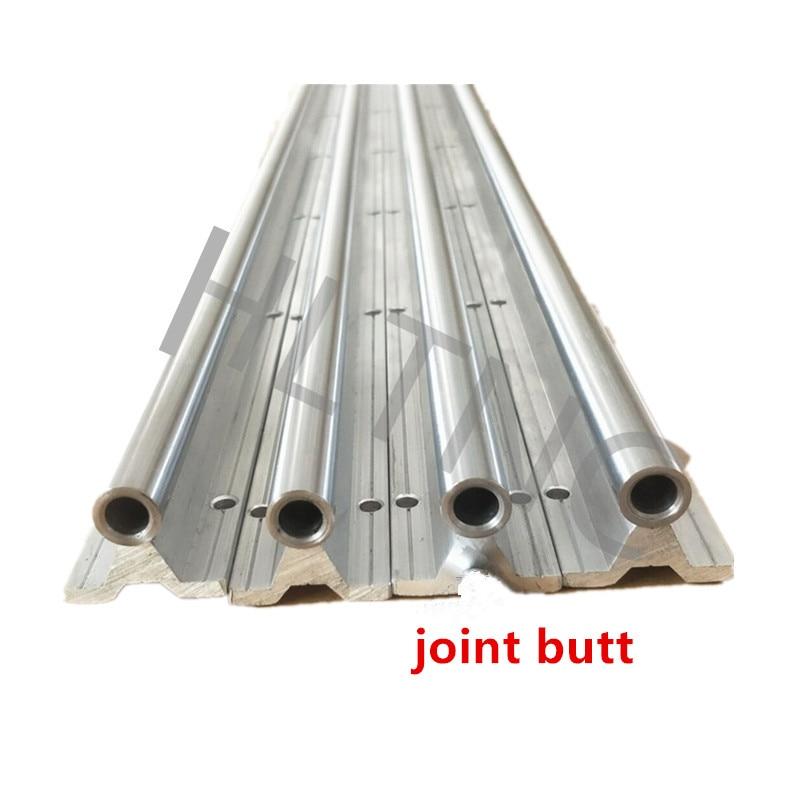Joint de butée 3 ensemble SBR20-3000mm + SBR30 3000mm 20/30 MM entièrement soutenu tige d'arbre de RAIL linéaire avec 8SBR20/30UU