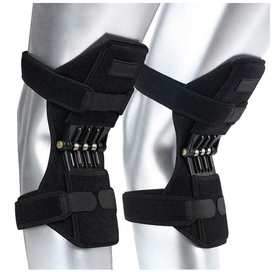 Joint Support Knee Pads Knee Brace Support Power Lift Joint Support Powerful Rebound Knee Brace Spring Force Knee Booster Elbow & Knee Pads    - AliExpress