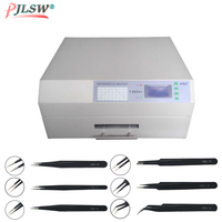 PUHUI T 962A+ Infrared IC Heater T962A+ Reflow Oven BGA SMD SMT LED PCB Rework Station T 962A Plug Soldering Station