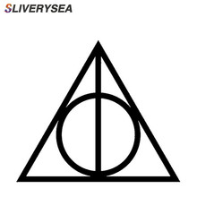 SLIVERYSEA Warning Sign Symbol Car Sticker for Motorcycle Wall Truck Styling Reflective Vinyl Decal #B1065