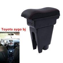 Для Toyota aygo bj подлокотник коробка USB
