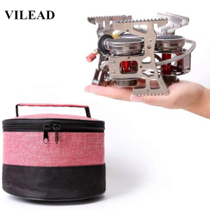 Image 1 - VILEAD 8000W Super Power Gas Burner Folding Outdoor Camping Stoves Cooking Windproof Butane Burners Portable Heater Furnace