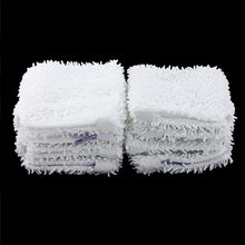 Mop Head Replacement Pad For Shark Washable Cleaning Pads Microfiber Machine Washable Cloths White Color(China)