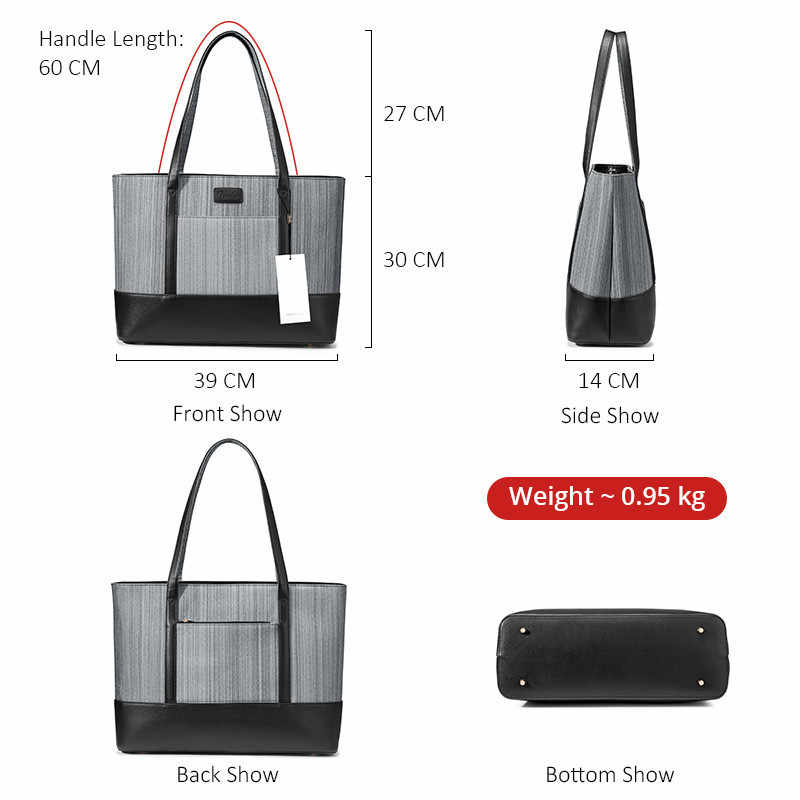 Kadın çanta Çanta, kadın çantaları İş gezileri için büyük tote çanta kadın üst kolu omuzdan askili çanta ofis için ve iş