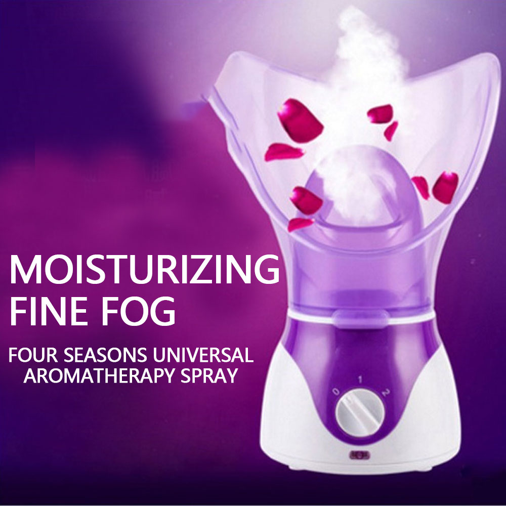 Facial Face Steamer Deep Cleanser Mist Steam Sprayer Spa Skin Vaporizer Promote Blood Circulation 110-240V 130W Drop Shipping