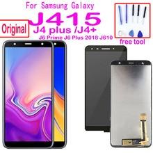 Original For Samsung Galaxy J4+ J415 SM-J415F J415FN LCD Display Touch Screen Assembly for J4 plus J415 J610 J6 Prime lcd Screen origina for samsung galaxy j4 2018 j4 plus j415 j415f j410 j6 prime j6 plus 2018 j610 lcd display touch screen j4 2018 j400 lcd