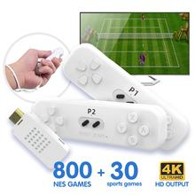 Klasyczna Mini konsola do gier o wysokiej rozdzielczości Y2 FIT interaktywna bezprzewodowa konsola do gier TV wbudowana w 830 nie powtarzalnych gier tanie tanio DATA FROG CN (pochodzenie) Home game console Game host Double wireless