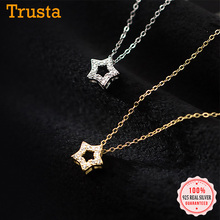 Choker Necklace Fine-Jewelry 925-Sterling-Silver Wedding Trustdavis Shiny Fashion Women