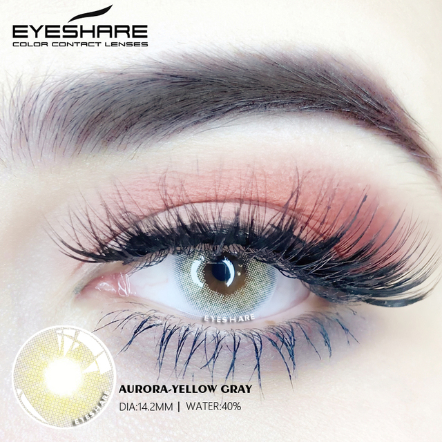 EYESHARE- 1 Pair Bitas Ocean Color Beautiful Pupil Contact Lenses Cosmetic Contact Lens Eye Lenses(2pcs) 5