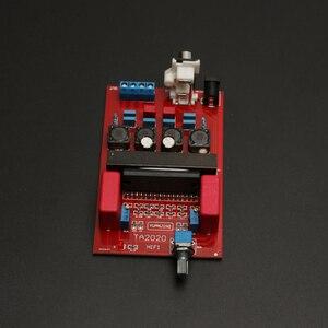 Image 4 - DC8.5 ~ 14v 20W * 2 TA2020 power verstärker bord Deluxe upgrade board Klasse T power verstärker bord mit potentiometer