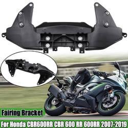 Motocicleta frontal superior carenagem ficar farol suporte da lâmpada suporte de montagem para honda cbr600rr 2007-2019 carenagem carenagem