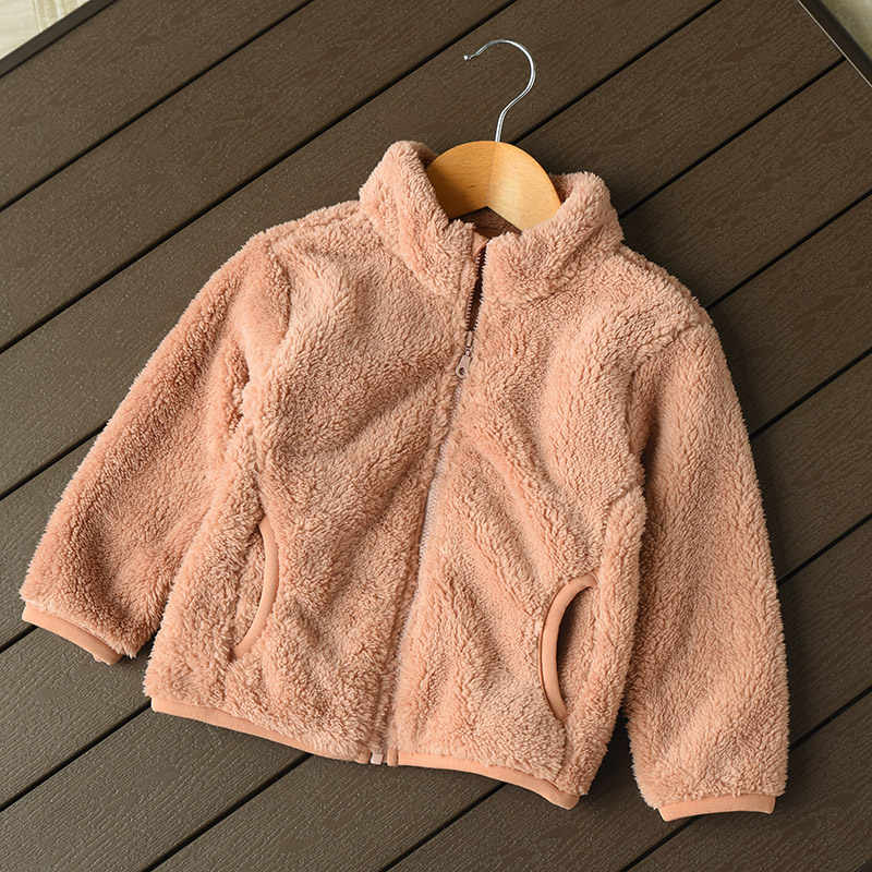 2019 New Women Kids Soft Fleece Jackets Fashion Casual Warm Comfort Women Winter Jacket Coat
