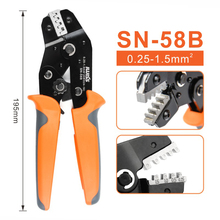 SN-58B crimper plier Suitable for DuPont 2.54/2.8/3.96/4.8/6.3 Plug Spring Terminal Crimping Pliers Multitool wire stripper