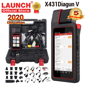 LAUNCH X431 Diagun V Full System Car Diagnostic tool OBD2 Code Reader Scanner Coding Active test pk CRP909E X431 PRO MINI TOOL