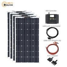 Гибкая солнечная панель 400 Вт 100 комплект для самостоятельной