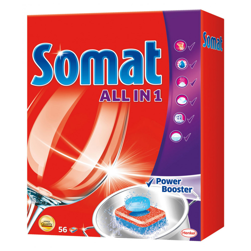 Home & Garden Household Merchandises Cleaning Chemicals Dishwasher Cleaner Somat 445574
