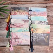 1 ud. Cuaderno Vintage Retro estilo chino diario de dibujo diario libro Bloc de notas planificador semanal papelería oficina escuela suministros