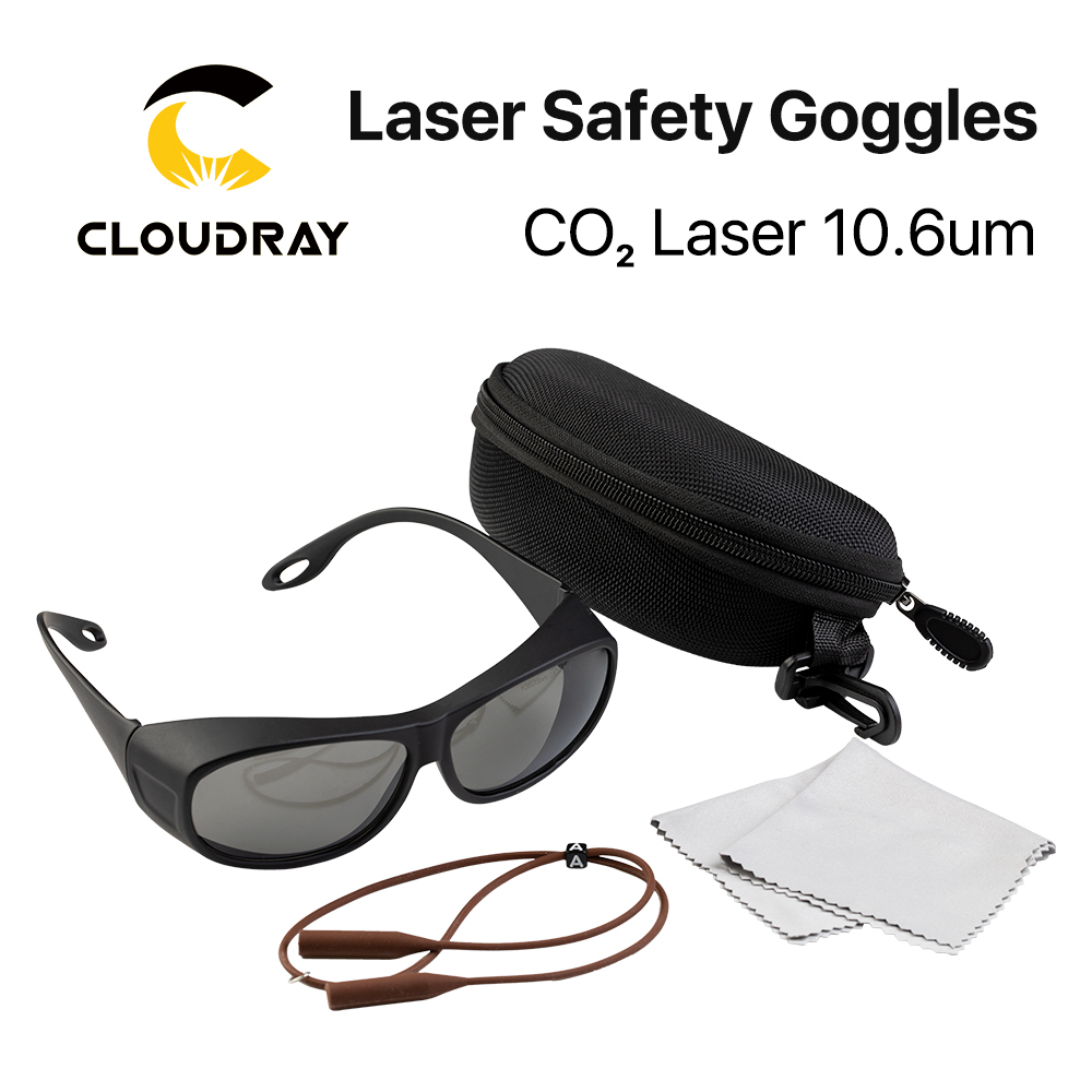 Cloudray 10600nm Style C Laser Safety Goggles OD4+ CE Protective Goggles For CO2 Laser Cutting Engraving Machine