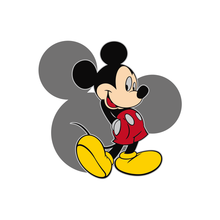 1pcs Mickey Mouse Character Sticker Minnie Duck Dog Patch Animal Icon DIY Thermal Transfer Iron On Apparel Decor Heat Sensitive(China)