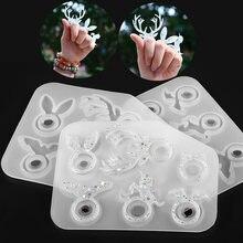 1 шт форма для эпоксидной смолы разные размеры силиконовые формы