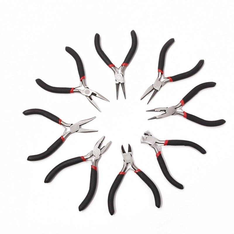 1 pçs ferramentas diy boca afiada jóias alicates para artesanato jóias fazendo ferramentas pilers para abridor anel cruz agulha fio de corte