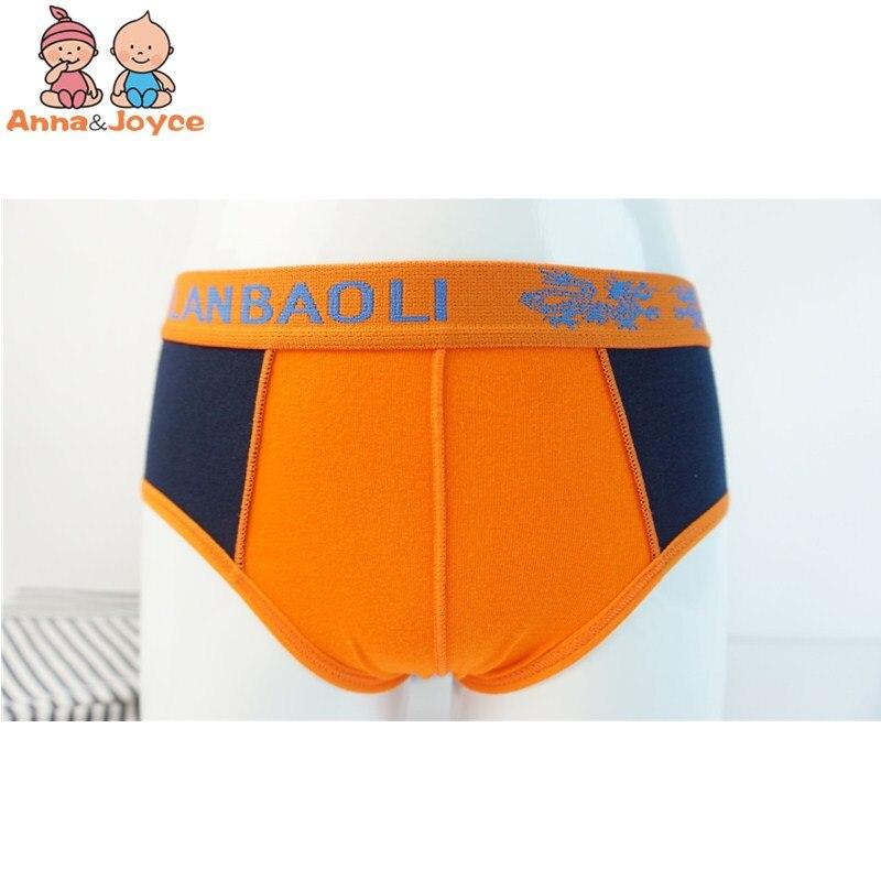 3pc Boys Cartoon Printing Cotton Briefs Children's Underwear Soft Comfortable Three Yards 3 To 12years 3