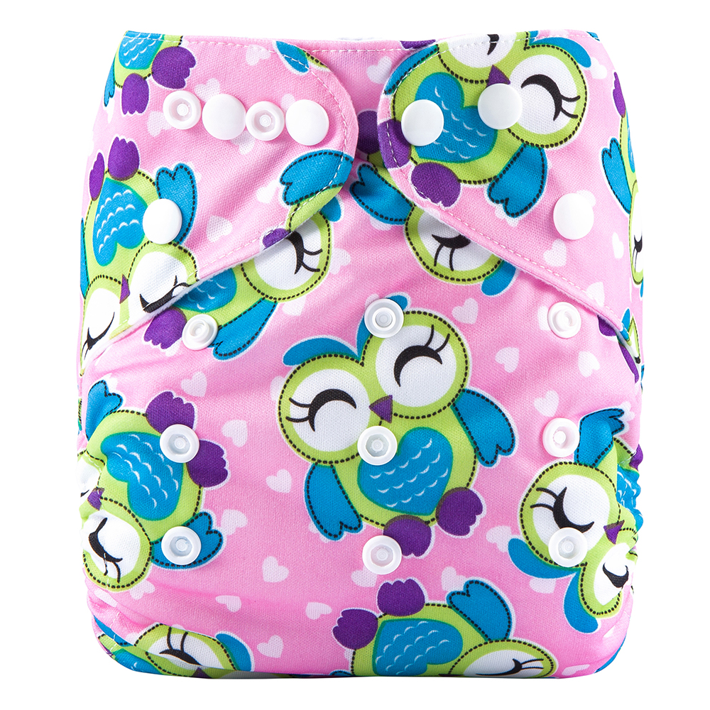 Baby Diaper Pants Reusable Excellant Diaper Covers Cloth Diapers Organic Cotton Baby Diaper For 3-13kg W9