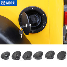 MOPAI Tank Abdeckungen für Jeep Wrangler TJ Auto Öl Tankdeckel Mit Schlüssel Schloss Abdeckung für Jeep Wrangler TJ 1997-2006 auto Zubehör