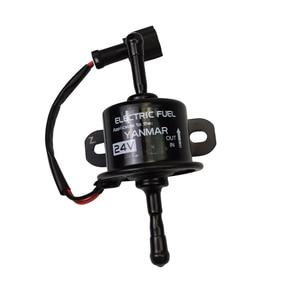 Image 3 - 129612 52100 Yanmar 4TNV94 4TNV98 업그레이드 연료 공급 펌프 용 DC12V 24V 전자 연료 공급 펌프