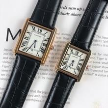 Cartier- Women watch Quartz Watch fashion gold Casual Waterp