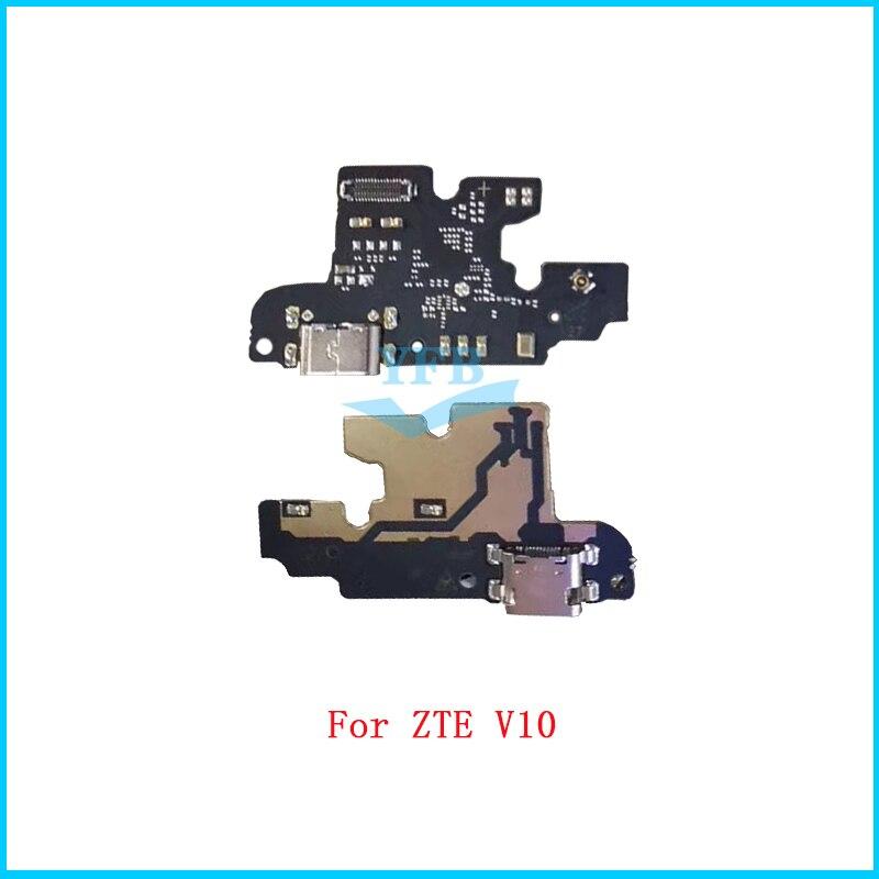 Для ZTE Blade V10 V10 Vita USB зарядная док-станция порт микрофон соединитель гибкий кабель плата