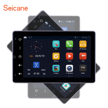 ซีเทอร์ Android 10.0 RAM 2GB ROM 32GB รถวิทยุสากลรถ GPS มัลติมีเดีย HD 180 ° หมุนได้หน้าจอสนับสนุน CarPlay