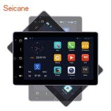 Seicane Android 10.0 RAM 2GB ROM 32GB uniwersalne Radio samochodowe GPS samochodowy odtwarzacz multimedialny HD 180 ° obrotowy ekran obsługujący Carplay