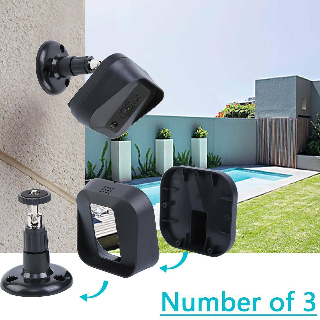 Honhill Wall Mount Camera Bracket Holder Waterproof For Blink XT XT2 Security Camera Cam Adjustable 360 Degree Camera Holder